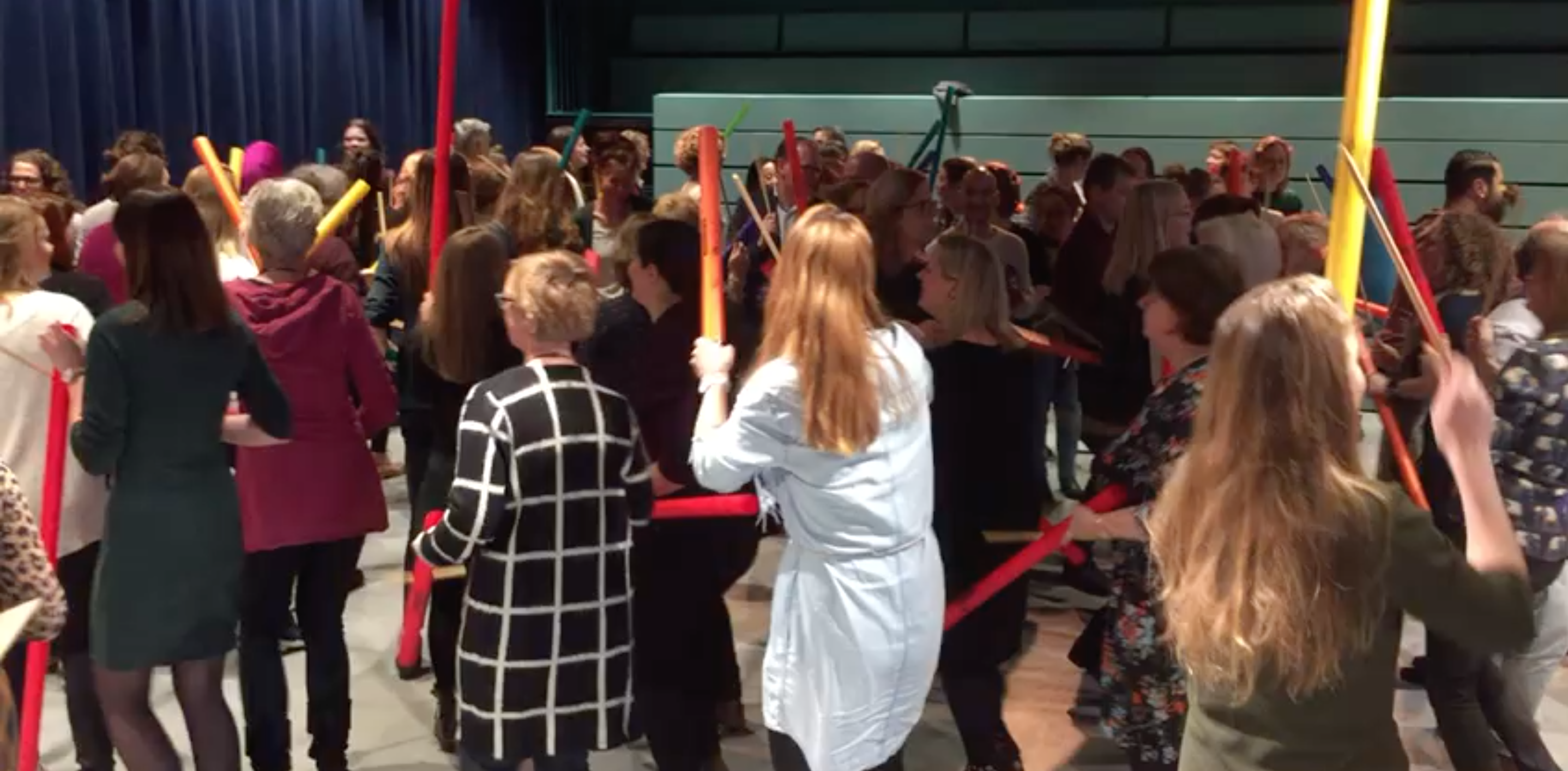 boomwhackers, percussieworkshop